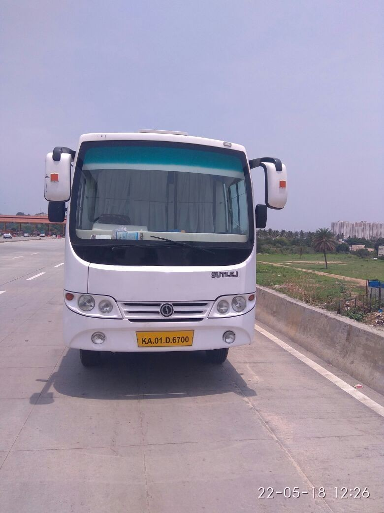 Swaraj Mazda bus hire in bangalore Swaraj Mazda rentals in Bangalore